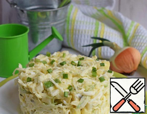 Potato Salad with Green Radish Recipe