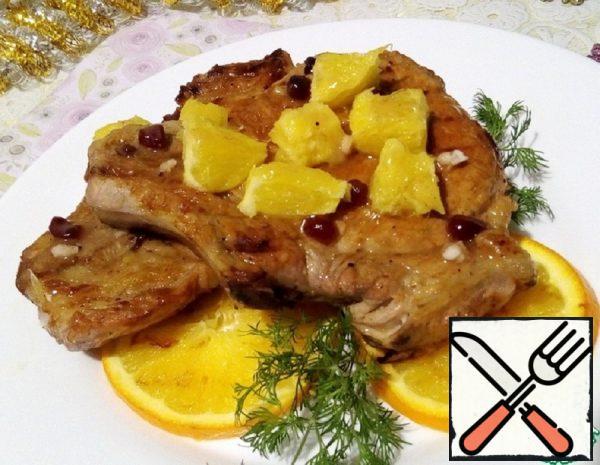 Roast Pork with Oranges Recipe