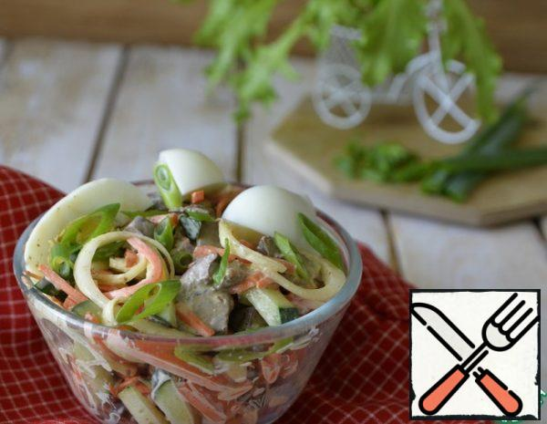 Chicken Liver and pickled Onion Salad Recipe