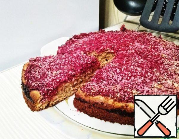 Kefir Pie with Raspberries Recipe