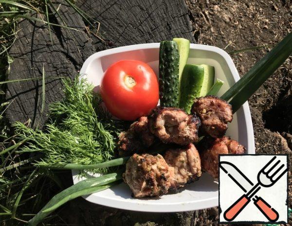 Shish Kebab with Aromatic Herbs Recipe