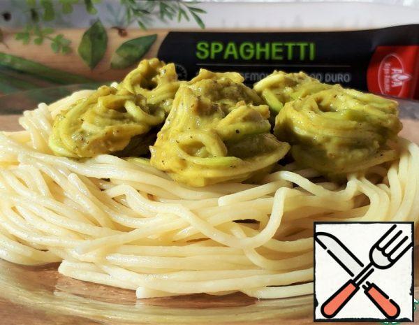 Zucchini Spaghetti on Spaghetti Recipe