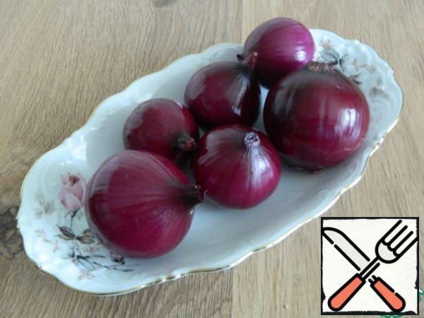 Peel the onion.