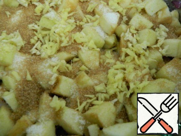 Add ginger and garlic.