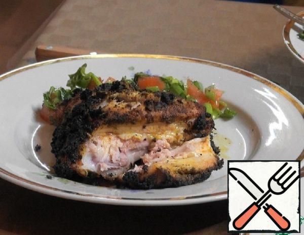 "Chicken ""Jamaica Jerk"" in a Wood-Burning Oven Recipe"