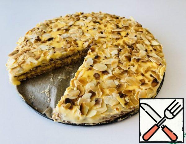 "Almond ""Almondi"" Cake Recipe"
