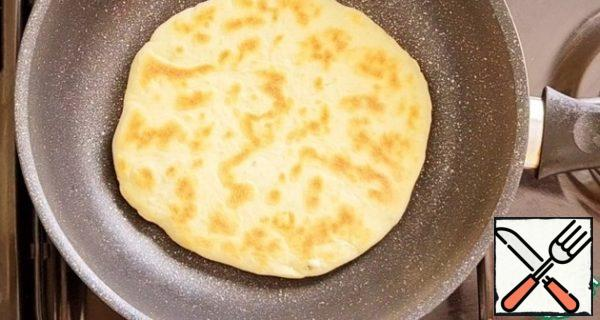 Fry until browned on both sides. To fry the tortillas on each side, you will need 2-4 minutes.