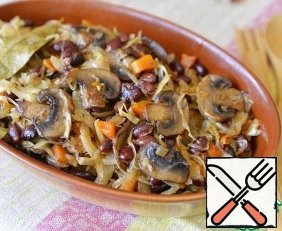 Serve the dish hot. Bon Appetit!