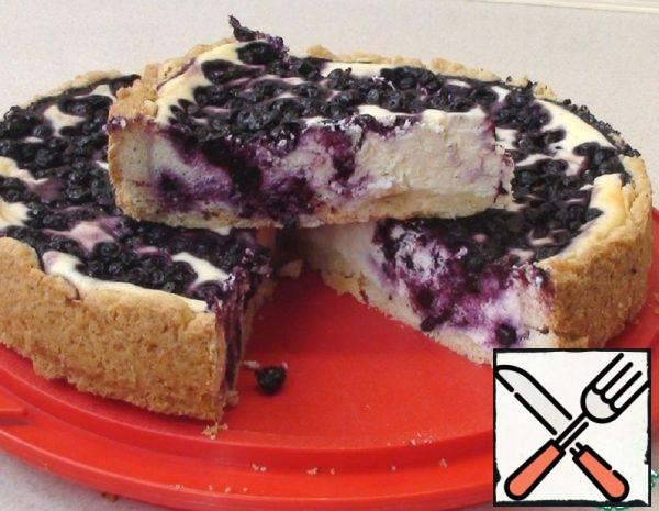 Cottage Cheese and Blueberry Cheesecake Recipe