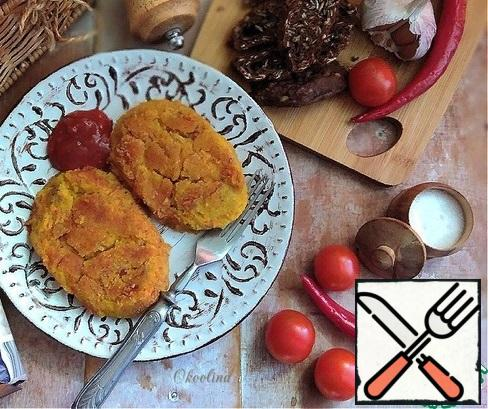 Serve hot. I served it with a spicy tomato sauce. The cutlets are good and cold. A great side dish or main course. Beautiful, fragrant, delicious bean burgers will delight you and your loved ones, diversify your lean menu! Outside of the Fast, you need to add an egg to the cutlets.