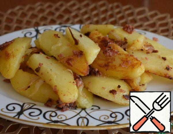 Fried Potatoes in Crispy Crumbs Recipe