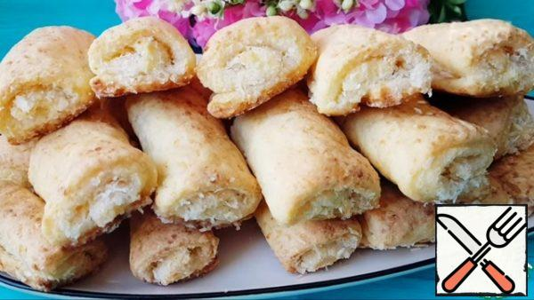 The cookies turned out to be very soft, fragrant, tender and incredibly delicious! The perfect combination of coconut and cottage cheese makes it DELICIOUS!Bon Appetit!