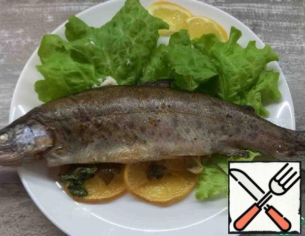 Rainbow Trout Baked in the Oven Recipe