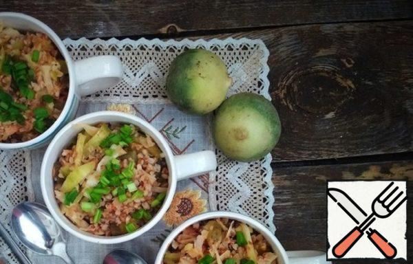 Buckwheat with Green Radish Recipe