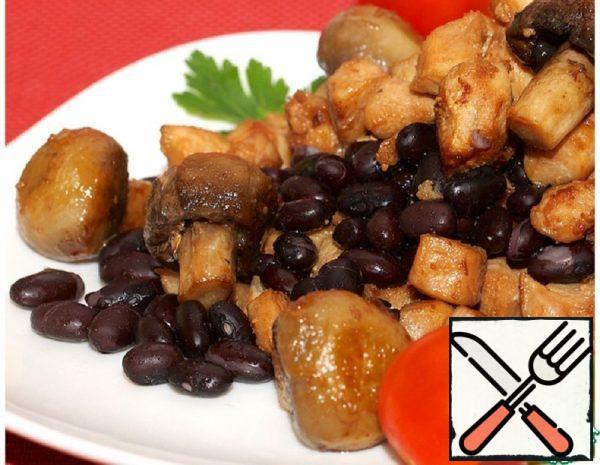 Warm Black Bean Salad Recipe