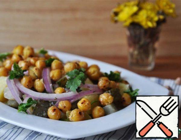 Warm Potato Salad with Chickpeas Recipe
