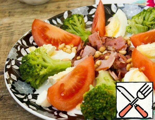 Broccoli Salad with Green Dressing Recipe