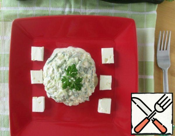 Cucumber Tartare with Feta Recipe
