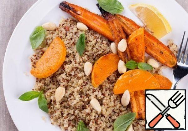 Warm Salad with Quinoa and baked Vegetables Recipe