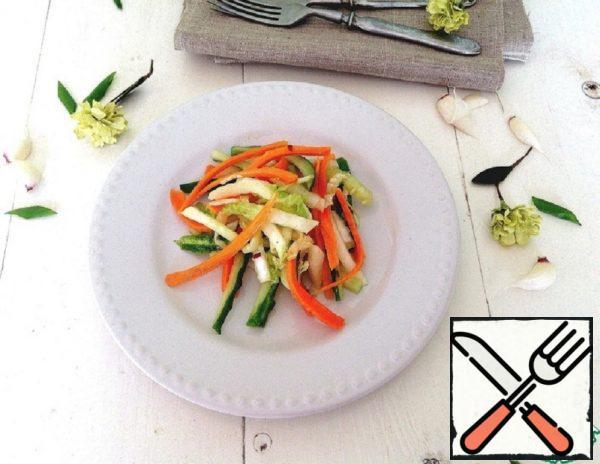 Fresh Vegetable Salad Recipe