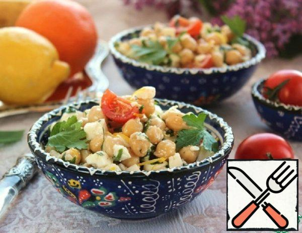 Spanish-Style Chickpea Salad Recipe