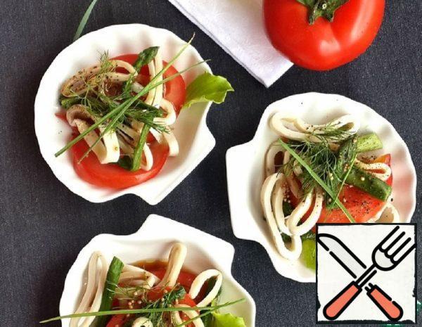 Salad with Squid Recipe