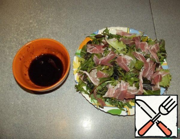 Arugula Salad with Bacon Recipe