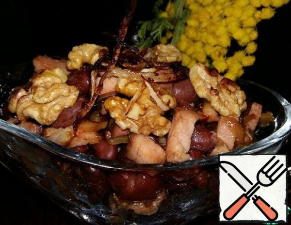 Warm Salad with Beans and Bacon Recipe