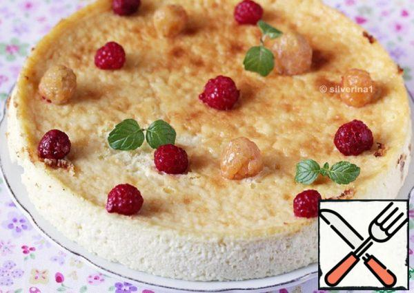 Cottage Cheese Casserole with White Chocolate Recipe