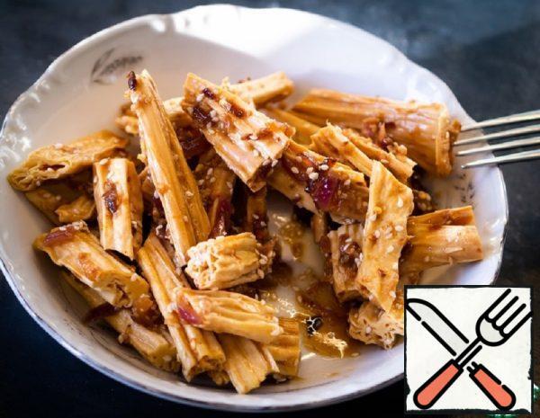"Soy Asparagus ""Fuzhu"" Recipe"