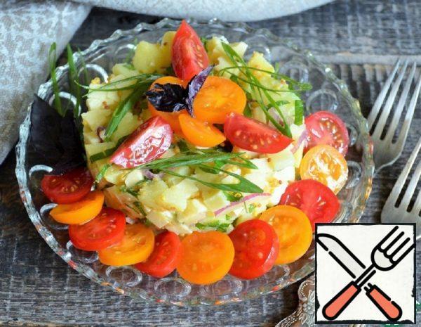 Potato Salad with Cheese Recipe