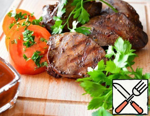 Grilled Turkey Liver Recipe