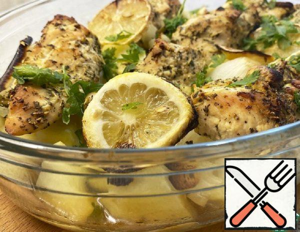 Provencal Style Chicken with Potatoes Recipe