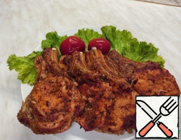 Juicy Steak on the Bone in the Oven Recipe