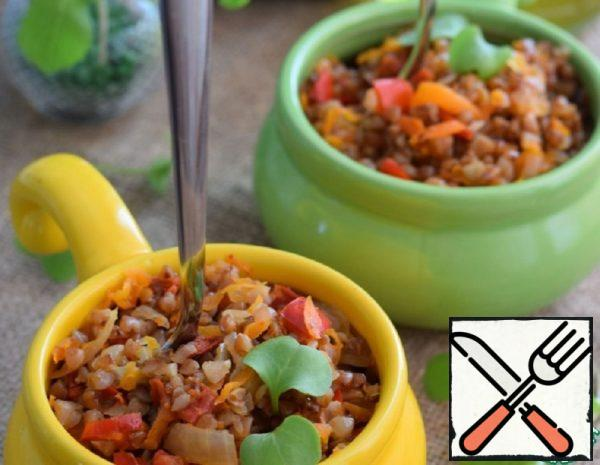 Buckwheat with Vegetables in the Sleeve Recipe