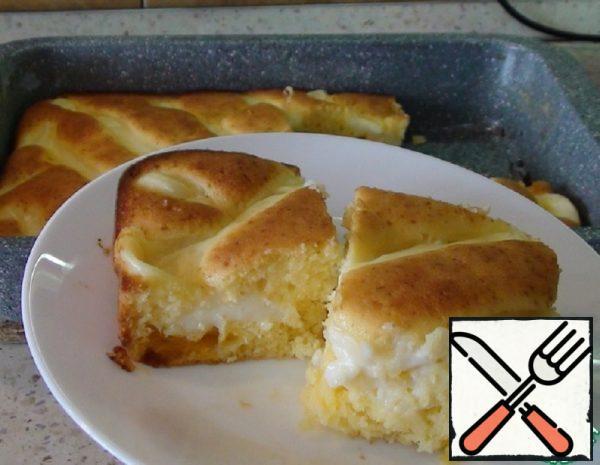 Orange Pie with Custard Recipe
