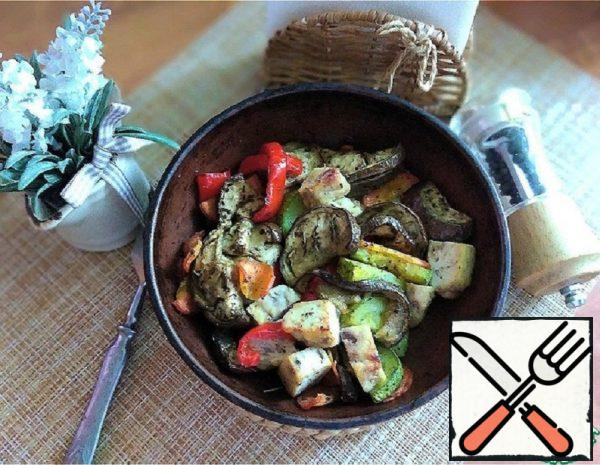Baked Spicy Vegetables Recipe