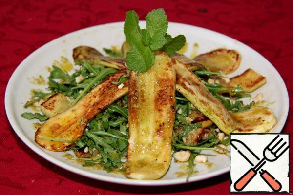 Warm Salad with Arugula Recipe