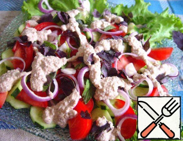 Traditional Georgian Salad Recipe