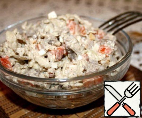 Liver Salad Recipe