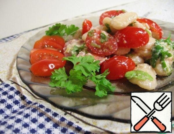 White Bean and Tomato Salad Recipe