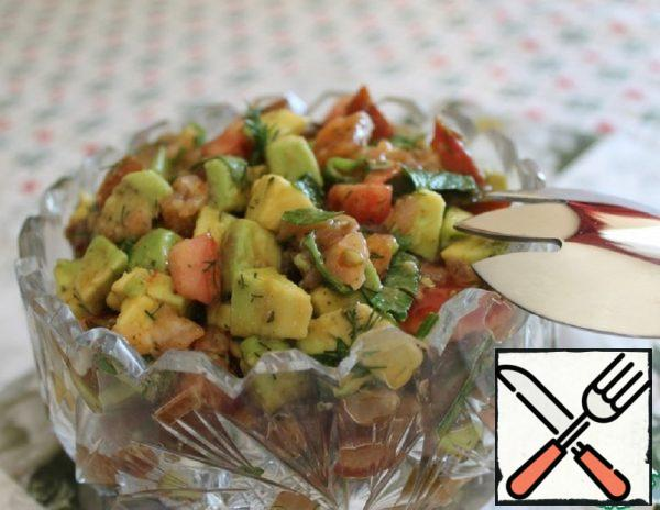 Avocado and Salmon Salad Recipe