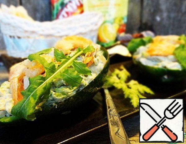 Salad with Shrimp and Avocado Recipe