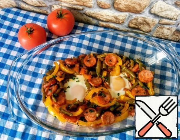 Scrambled Eggs in Spanish Recipe