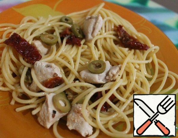 Pasta with dried Tomatoes Recipe