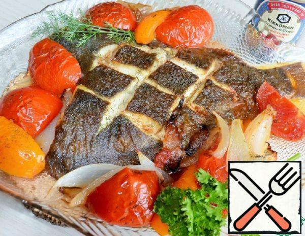 Flounder with Tomatoes Recipe