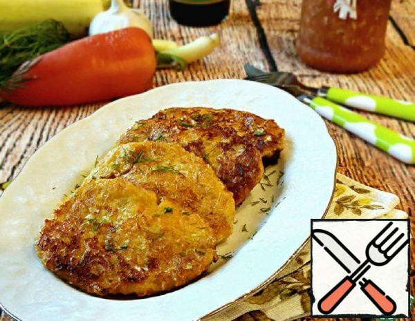 Vegetable Cutlets with Cheese Recipe
