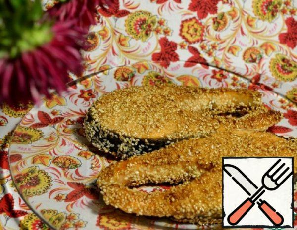 Salmon in Sesame Seeds Recipe