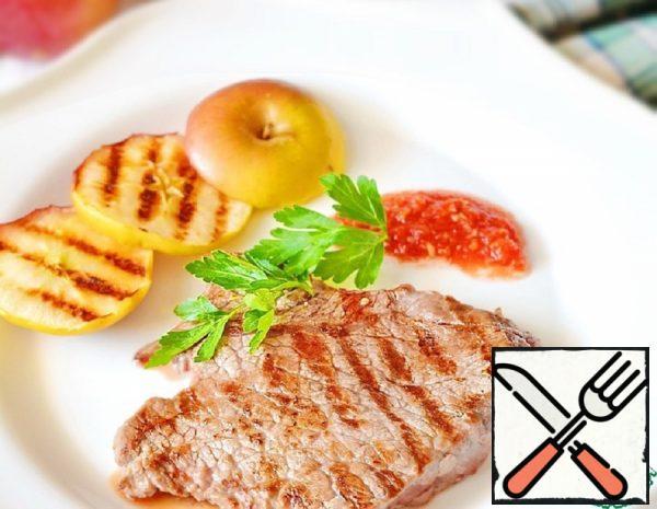 Grilled Pork in Apple Juice Recipe