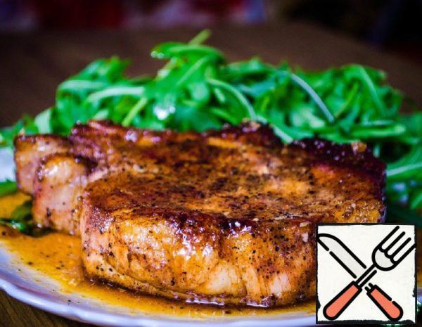 Glazed Pork Steak Recipe